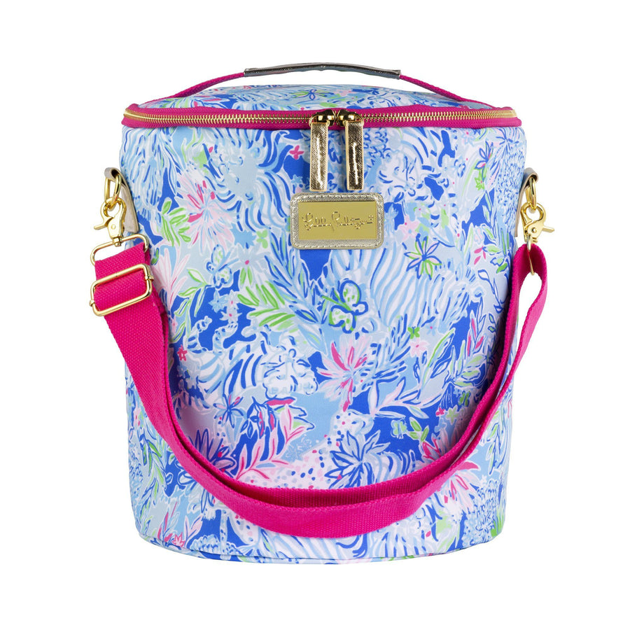 Lilly Pulitzer Classic Monogrammed Lilly Beach Cooler, Accessories, Lilly Pulitzer, - Sunny and Southern,