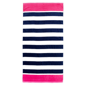 Classic Monogrammed Beach Towel, Accessories, WB, - Sunny and Southern,
