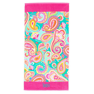 Monogrammed Beach Towel, Accessories, WB, - Sunny and Southern,