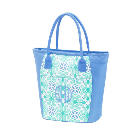 Monogrammed Monogrammed Cooler/Lunchbox Tote - Sunny and Southern - 1
