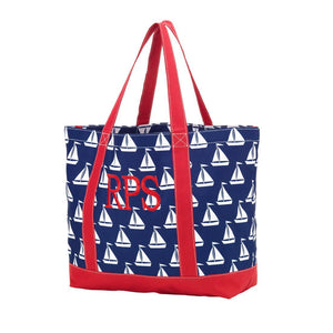 Classic Monogrammed Tote Bag, Accessories, WB, - Sunny and Southern,