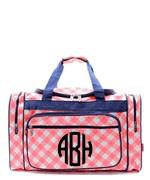 Monogrammed Monogrammed Canvas Duffle Bag - Sunny and Southern - 1