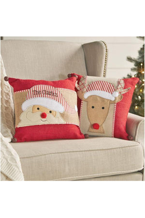 Christmas Pillow Wrap, Home, Mud Pie, - Sunny and Southern,