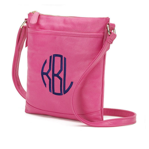 Monogrammed Monogrammed Crossbody Purse - Sunny and Southern - 1