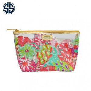Simply Southern Clear Cosmetic Bag, Accessories, Sunny and Southern, - Sunny and Southern,