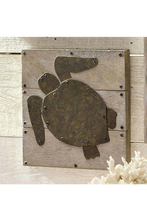 Monogrammed Turtle Plaque, home, Mud Pie, - Sunny and Southern,