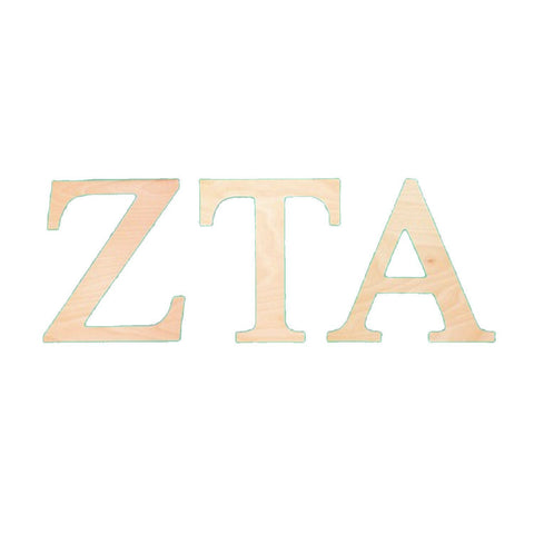 monogrammed wood greek letters sunny and southern 1