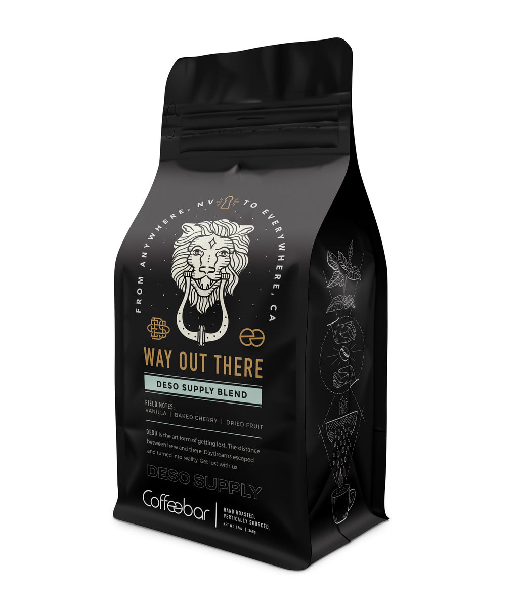 Deso x Coffeebar [Way Out There Blend]