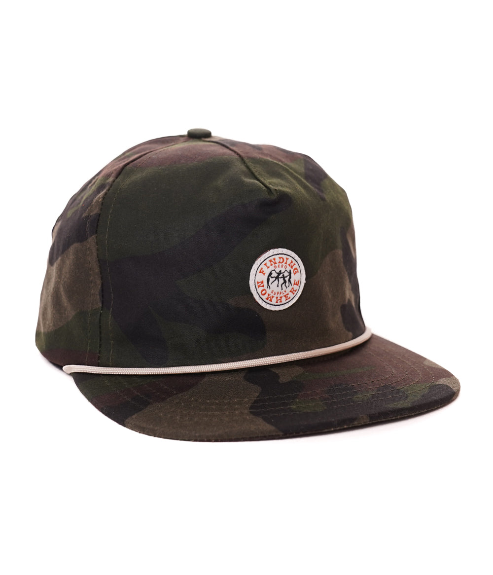 Finding Nowhere Waxed 5-panel