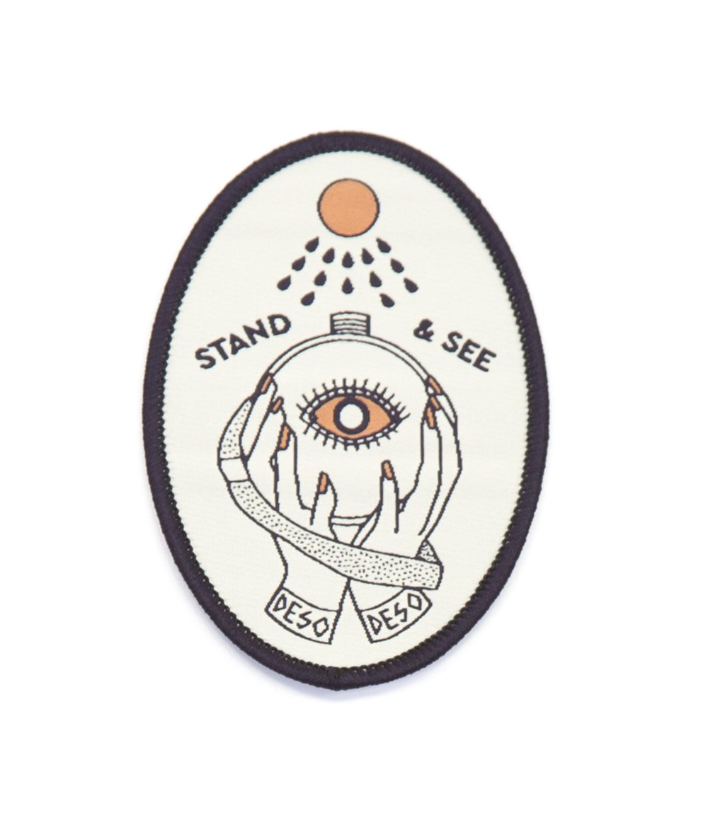 Stand & See Oval Patch