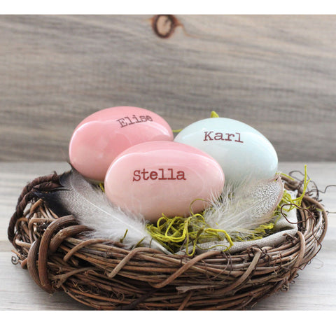 3 Custom names and birthdate eggs in Mothers nest