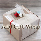 RIng holder gift wrap option from Elise Thomas Designs