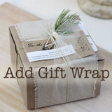 Add Seasonal natural Gift wrapping service to your order