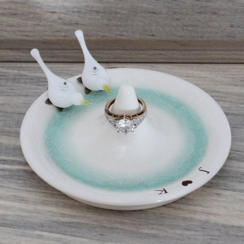 doves ring dish