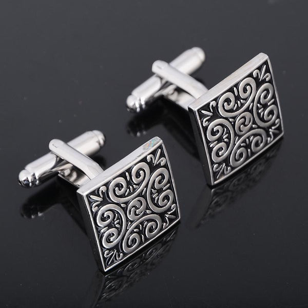 Your sleeves bore me! Adorn them with a pair of cufflinks!