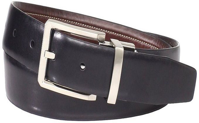 "32"" Geoffrey Beene Men's Contrast Top Stitch Belt"