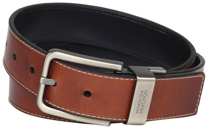 "36"" Kenneth Cole REACTION Men's Leather Reversible Belt"