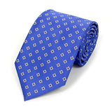 Blue Square Dots Tie