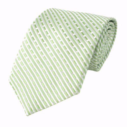 Light Green Slim Tie