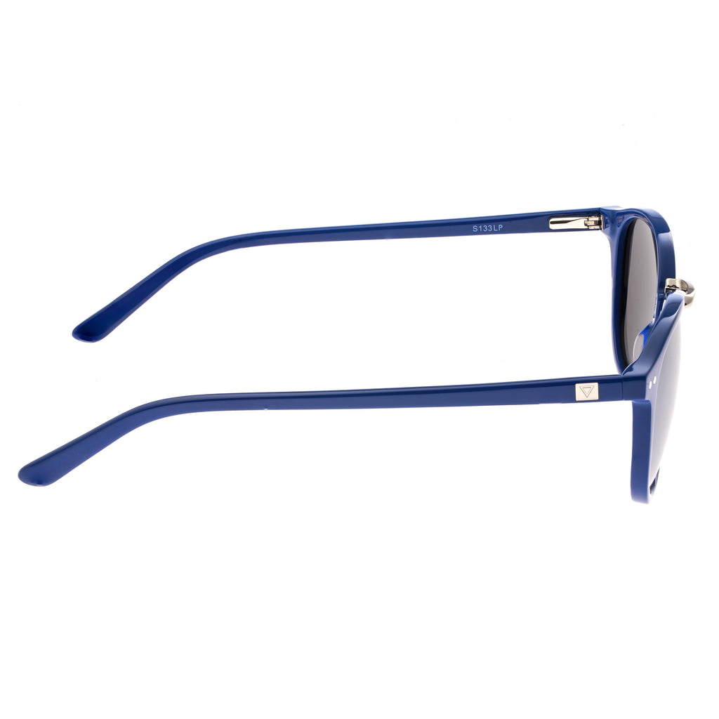 Sixty One Blue Champagne Polarized Sunglasses