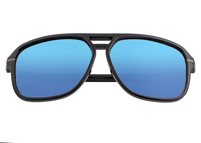 Simplify Black Reed Polarized Sunglasses