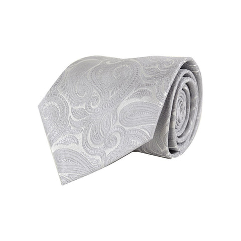 d924ef682bed Laurant Bennet. Silver Paisley Tie