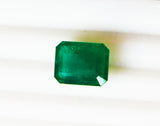 11.23 Fine Natural Emerald Square Octagon Zambia UnTreated Loose GemStone