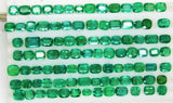 135.31 Cts Fine Natural  Emerald Mix Wholesale Parcel LooseGem Stones