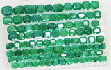 168 Ct Natural Emerald Cushion Parcel Zambia UnTreated Loose GemStone - RareGem.IN - 10