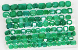 168 Ct Natural Emerald Cushion Parcel Zambia UnTreated Loose GemStone - RareGem.IN - 5