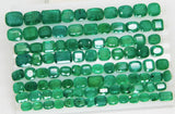 168 Ct Natural Emerald Cushion Parcel Zambia UnTreated Loose GemStone - RareGem.IN - 7