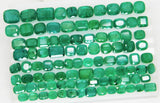 168 Ct Natural Emerald Cushion Parcel Zambia UnTreated Loose GemStone - RareGem.IN - 8