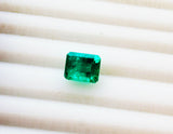 1.90 Ct Fine Natural Emerald  Square Octagon Colombia  Loose GemStone