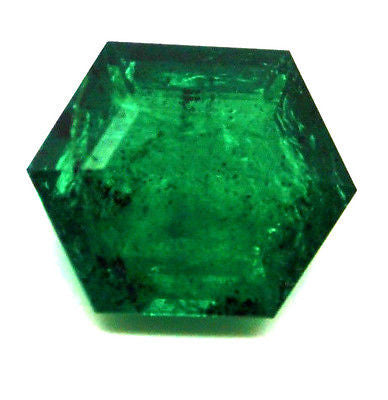 11.23 Ct Fine Natural Emerald Zambia UnTreated Loose GemStone - RareGem.IN