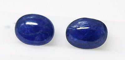 14.51 Ct Rare Unheated Untreated Natural Mokok Blue Sapphire Pair Loose GemStone - RareGem.IN