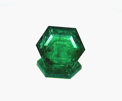 11.23 Ct Fine Natural Emerald Zambia UnTreated Loose GemStone - R A R E G E M . I N