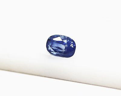 3.06 Ct Natural Unheated Untreated  SriLanka Blue Sapphire Loose GemStone - R A R E G E M . I N