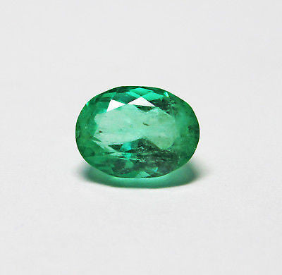 2.30 Ct Fine Natural Emerald Oval Columbia UnTreated Loose Gemstone - RareGem.IN