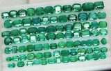 233.88 Ct Natural Emerald Cushion Parcel Zambia UnTreated Loose GemStone - RareGem.IN - 1