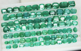 233.88 Ct Natural Emerald Cushion Parcel Zambia UnTreated Loose GemStone - RareGem.IN - 2