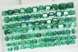 233.88 Ct Natural Emerald Cushion Parcel Zambia UnTreated Loose GemStone - RareGem.IN - 3