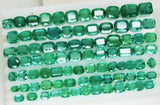 233.88 Ct Natural Emerald Cushion Parcel Zambia UnTreated Loose GemStone - RareGem.IN - 5