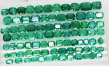 233.88 Ct Natural Emerald Cushion Parcel Zambia UnTreated Loose GemStone - RareGem.IN - 6