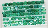 233.88 Ct Natural Emerald Cushion Parcel Zambia UnTreated Loose GemStone - RareGem.IN - 9
