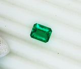 2.43 Ct Fine Natural Emerald  Square Octagon Colombia  Loose GemStone