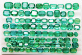 330 Ct Fine Natural Emerald Mix Wholesale Parcel Ovals,Octagon & Cushion - RareGem.IN - 2