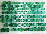 330 Ct Fine Natural Emerald Mix Wholesale Parcel Ovals,Octagon & Cushion - RareGem.IN - 3