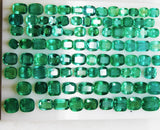 330 Ct Fine Natural Emerald Mix Wholesale Parcel Ovals,Octagon & Cushion - RareGem.IN