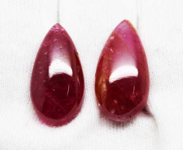 33.98  Ct Fine Natural Ruby Mokok UnHeated UnTreated Loose GemStone - R A R E G E M . I N