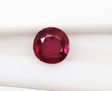 4.36 Ct Fine Natural Ruby Mokok UnHeated UnTreated Loose GemStone - RareGem.IN